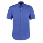 Professional Construction Royal Blue Premium Short Sleeve Oxford Shirt (Derby College Professional Construction Embroidered)