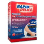 "Rapid Relief Deluxe Reusable Hot / Cold Compress Wrap 9"" x 13"""