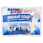 "Rapid Relief Cold Pack C/W Self Adhering Wrap 5"" x 9"""