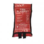 1.0m x 1.0m Soft Case Fire Blanket (British Standard)