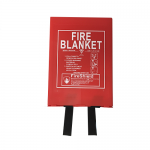 1.8m x 1.8m Hard Case Fire Blanket (British Standard)