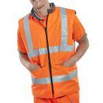 Orange Reversible Bodywarmer