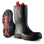 DUNLOP PUROFORT+RUGGED FULL SAFETY RIGGER BOOT BLACK