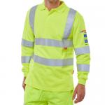 ARC Compliant SAT Yellow Polo Shirt