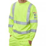 ARC Compliant SAT Yellow Sweatshirt