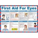 59 x 42cm First Aid for Eyes Poster
