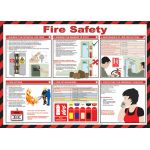 59 x 42cm Fire Safety Poster