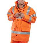 BSEEN 4 in 1 Jacket & Bodywarmer Orange