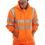 B-Seen Hooded Sweatshirt Orange
