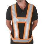 Lightvest Harness C/W Backlight Orange L/XL