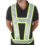 Lightvest Harness C/W Backlight Saturn Yellow L/XL