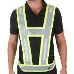 Lightvest Harness S/Y with Red Lights Shoulder and Back