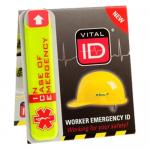 Emergency ID Induction Sticker