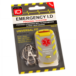 Emergency ID Universal Fit Tag