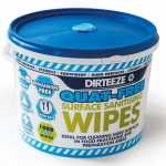 Dirteeze Anti-Bacterial Wipes (250 Wipes)