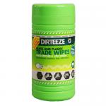 Dirteeze Jumbo Canister Glass & Plastic Wipes (80 Wipes)
