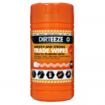 Dirteeze Smooth and Strong Trade Wipes (80 Wipes)