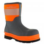 Brightboot Medium Wellingtons Orange / Grey