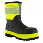 Brightboot Medium Wellingtons Yellow / Black