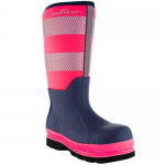 Brightboot Tall Wellingtons Pink / Navy
