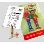 First Aid For Children Pack with Coloured Pencils