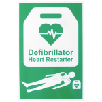 AED Automated External Defibrillator Sign 20cm x 30cm