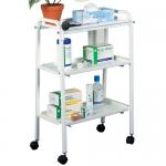 Click Medical Three Tier Trolley