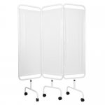 Click Medical Three Curtain Privacy Screen