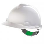MSA V-Gard Safety Helmet, Colour: White