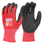 PU Coated Gloves Red (Pack of 100)